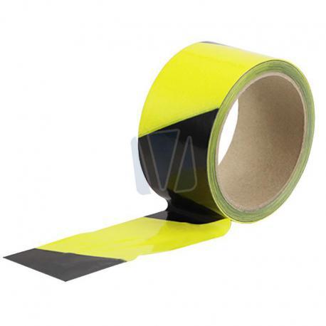 Vloertape geel/zwart