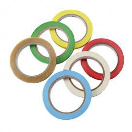 Gekleurde tape voor zakkensluiter