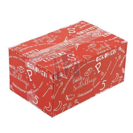 Kartonnen dozen Sinterklaas
