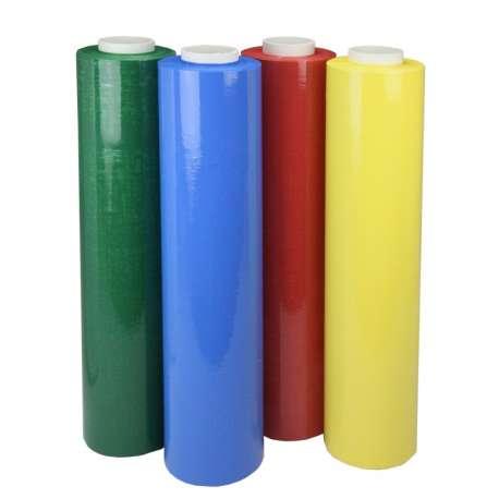 Handwikkelfolie gekleurd (per doos)