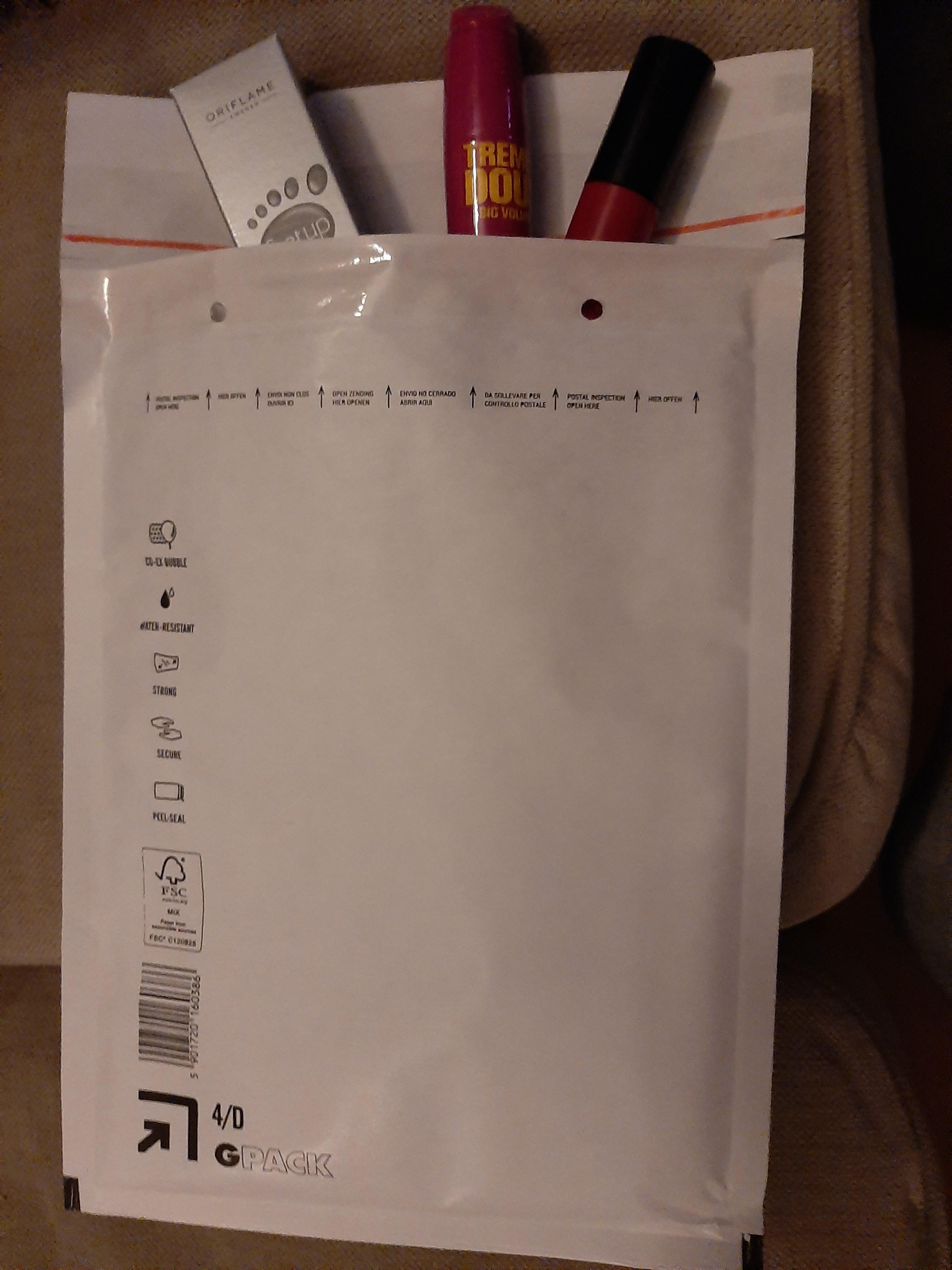 Luchtkussen enveloppen (per doos) gebruik: Luchtkussen enveloppen (per doos)